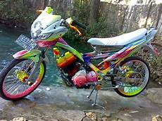 Modifikasi Motor Satria Fu Airbrush by Modifikasi Satria Air Brush Images