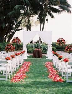 Outdoor Wedding Ceremony Backup Plan