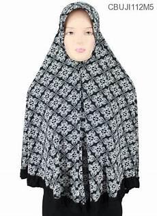 Jilbab Motif Monochrome Voal Motif