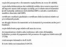 domanda di carta di soggiorno bufala pensioni agli extracomunitari con legge amato 388