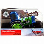 Disney Cars Chaser Series Clutch Aid Tractor Diecast Car