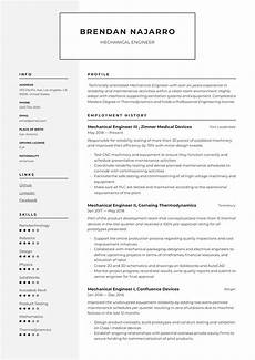 mechanical engineer resume writing guide 12 templates
