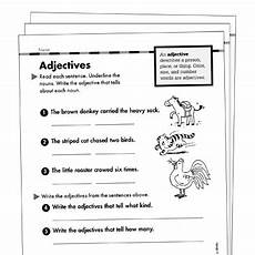 grammar worksheets for grade 1 adjectives 25163 adjectives grade 1 collection printable leveled learning collections
