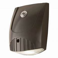 all pro bronze integrated led outdoor wall light with dusk to dawn photocell sensor 1600