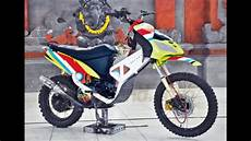 Mio Modif Trail by Modifikasi Liar Motor Yamaha Mio Trail Kontruksi