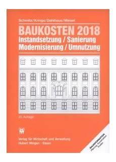 enev 2018 altbau baukosten 2018 band 1 altbau schmitz krings
