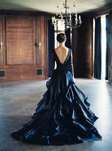 25 incredible black wedding dresses