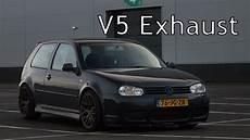 2 3 v5 exhaust sound 170hp vw golf 4