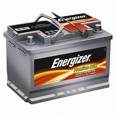 Energizer Autobatterie Premium Agm Kapazit 228 T 70 Ah 12 V