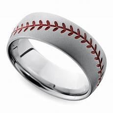 cool men s wedding rings for sports fanatics