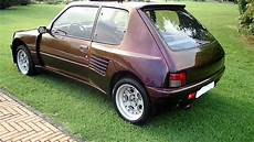 sam 1551 peugeot 205 gti dimma 1 6 pts 125 cv 1985 kit maxi large esterno interno mp4