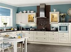 kitchen backsplash with blue walls white paint colors for kitchen cabinets and blue wall