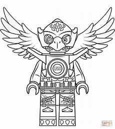 Malvorlagen Lego Chima Lego Chima Eagle Eris Coloring Page Free Printable