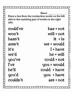 first grade contraction worksheets search projects to try 2nd grade worksheets