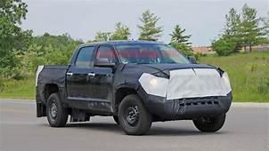 2021 Toyota Tundra Hybrid Spied Still Hiding Its Rear
