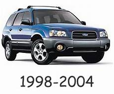 automotive repair manual 1998 subaru forester user handbook subaru forester 1998 2004 service repair manual download download