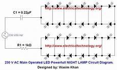 fixture wiring diagram 110v 230v 230 v 50hz ac or 110v 60hz operated led powerful l circuit diagram electrical