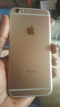 Uk Used Gold Iphone 6s 64gb For Sale In Ibadan For 17ok
