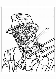 creepy coloring pages for adults top free printable