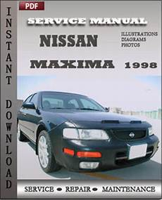 car engine manuals 1998 nissan maxima regenerative braking nissan maxima 1998 service manual download repair service manual pdf