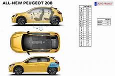 dimension coffre 208 peugeot 208 best car rentals europe auto