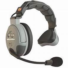 ear headset eartec comstar single ear duplex wireless headset cs