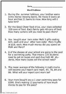 decimal word problems worksheets for grade 5 7546 pin on math