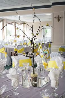 diy wedding centerpiece branches pictures and crepe