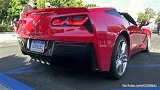 2014 corvette c7 stingray start up exhaust sounds