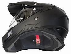 motorradhelm mit schwarzem visier motorradhelm mx enduro helm matt schwarz mit visier