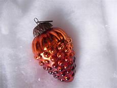 1 Ancienne Boule De No 235 L Raisin Orange Verre 233 Glomis 233