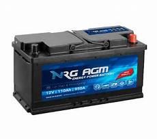 Nrg Agm Start Stop Autobatterie 110ah