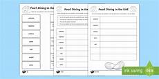 uae money worksheets for grade 2 2647 pearl diving matching worksheet worksheet oyster uae history