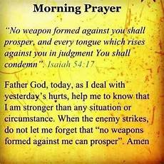 no weapon formed against me shall prosper inspirational prayers spiritual warfare prayers