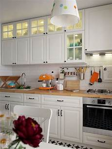 ikea metod bodbyn white idee decoration cuisine
