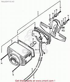 honda ct 70 k3 clutch assembly diagram honda ct90 trail 1971 k3 usa taillight k1 k3 schematic partsfiche