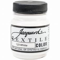 jacquard textile color fabric paint 2 25oz white walmart com