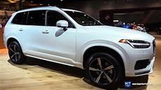 2017 volvo xc90 t6 awd r design exterior and interior