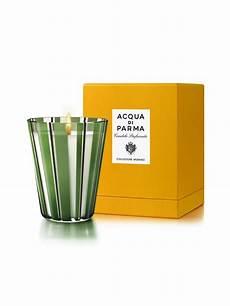 candele acqua di parma acqua di parma reveals murano candle for