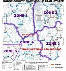 c dodge map county changes snowmobile trail system regional news