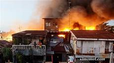 Foto Foto Kebakaran Hebat Di Pemukiman Penduduk Makassar