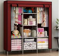 Bedroom Clothes Storage Ideas by New Portable Bedroom Furniture Clothes Wardrobe Closet