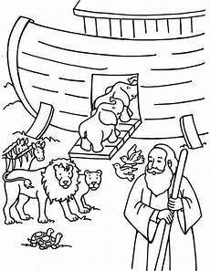 bible animals coloring pages 16909 noah counting the animals before departing the ark coloring page sunday school coloring pages
