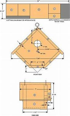 wren bird house plans wren house plans with detailed diagrams detailed