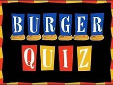 Burger Quiz Speciale Jour De L An