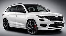 skoda kodiaq rs reportedly confirmed will come with