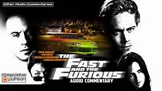 fast and furious 1 the fast and the furious 2001 audio commentary