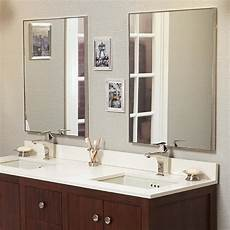 Metal Bathroom Mirrors