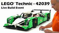 Lego Technic Build by Lego Technic 42039 24 Hours Race Car Live Build Event