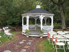 Outside Gazebo Wedding Decoration Ideas